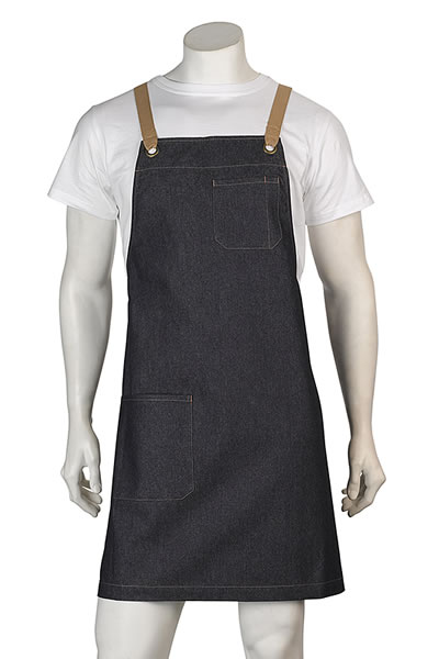 A14 Billy Denim Bib Apron