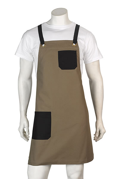 A16 Brooklyn Canvas Bib Apron