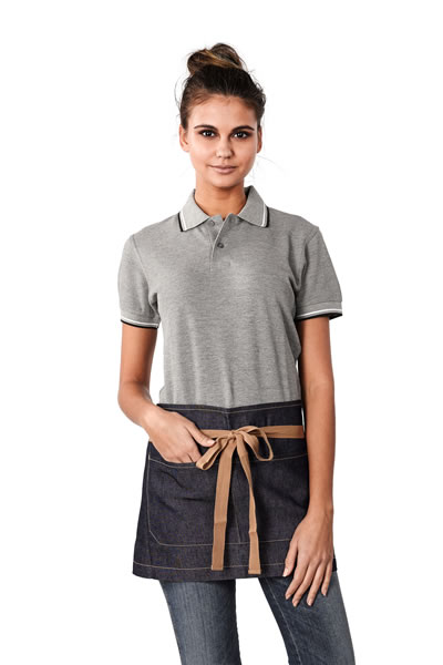 A22 Bronte Original Denim Short Apron